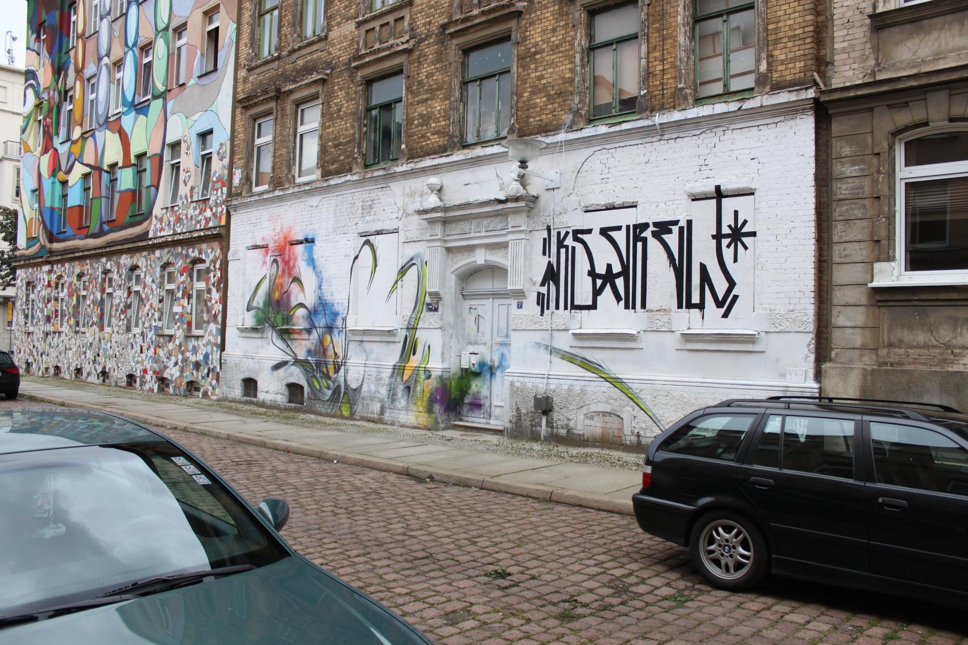 Zu sehen in der Krondorfer Straße in Freiimfelde