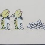 Vögel Eierleger 12.