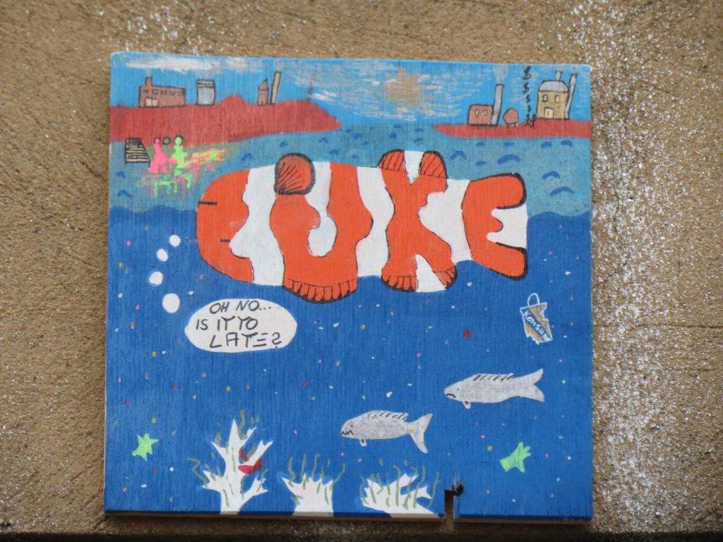 Cake Street Artist : Fisch-CAKE   Street Art in Halle (Saale)