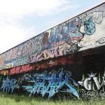 Graffiti in Glaucha 2013, 2014
