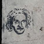 Einstein am Boden
