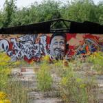 Graffiti bildlich: Freundlicher Zeitgenosse