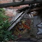 Graffiti bildlich: Dreitagebart