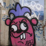 Graffiti bildlich: Rattenkönig ?