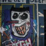 Graffiti bildlich: Langnase