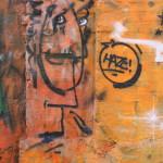 Graffiti bildlich: Doppelkopf…