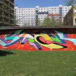 Am Skaterpark in Ha-Neu