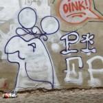 Graffitikopf PIEP
