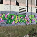 Graffiti in Glaucha 2015