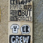 TU ER crew Fliese