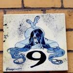 Nummerngirl in der Goethe-Str. 9