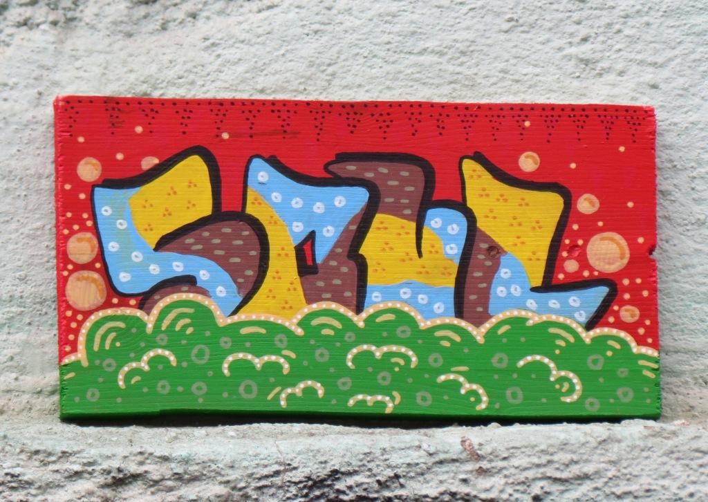 Soul sieben neue sticker und fliesen street art in halle - Fliesen halle saale ...