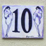 Fliesegrimms Nummerngirls 10 und 28