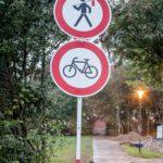 Straßenschild: Laternenträger