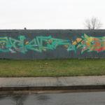 Kaolinstraße (151): ESCHER (?)  und SENSOE