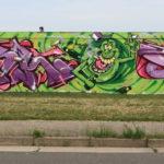 Kaolinstraße (161): ARSH und CORK und grüne Männlein