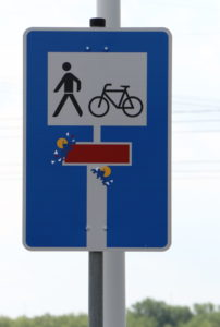 26-Schild, Pacman_IMG_7163v