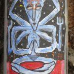 Shiva meditiert