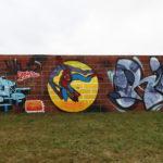 Kaolinstraße Ha-Neu (187): SURO, RICO79 und Spiderman