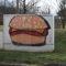 Hochgespannter Burger